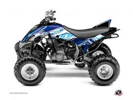 Graphic Kit ATV Eraser Yamaha 350 Raptor Blue