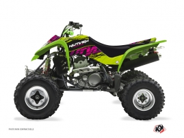 Kawasaki 400 KFX ATV ERASER Graphic kit Green
