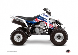 Graphic Kit ATV Eraser Suzuki 400 LTZ IE Blue Red