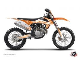 Graphic Kit Dirt Bike Eraser KTM 450 SXF Orange