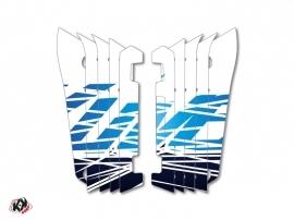 Graphic Kit Radiator guards Eraser Yamaha 450 YZF 2014-2016 Blue