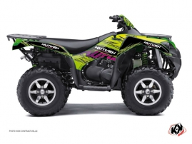 Kawasaki 650 KVF ATV ERASER Graphic kit Green