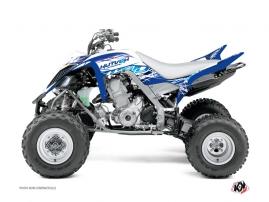Graphic Kit ATV Eraser Yamaha 660 Raptor Blue