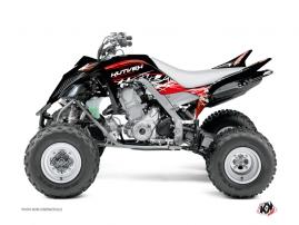 Graphic Kit ATV Eraser Yamaha 660 Raptor Red White