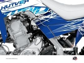 Graphic Kit Frame protection ATV Eraser Yamaha 700 Raptor 2013-2016 Blue