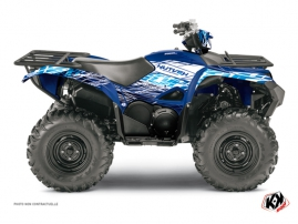 Graphic Kit ATV Eraser Yamaha 700-708 Grizzly Blue