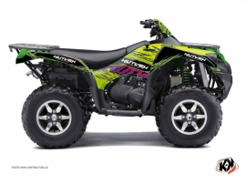 Kawasaki 750 KVF ATV ERASER Graphic kit Green