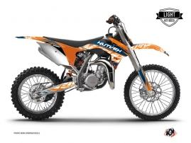 Graphic Kit Dirt Bike Eraser KTM 85 SX Blue Orange LIGHT