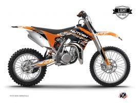 Graphic Kit Dirt Bike Eraser KTM 85 SX Orange Black LIGHT