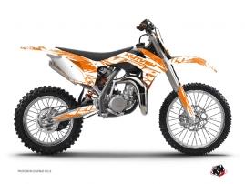 KTM 85 SX Dirt Bike ERASER Graphic kit Orange