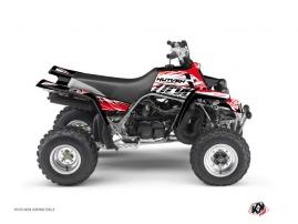 Yamaha Banshee ATV ERASER Graphic kit Red White