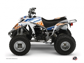 Yamaha Blaster ATV ERASER Graphic kit Blue Orange
