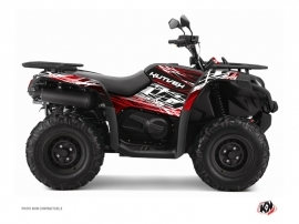CF MOTO CFORCE 450 S ATV ERASER Graphic kit Red White