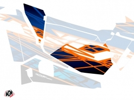 Graphic Kit Doors Low Dragonfire Eraser UTV Polaris RZR 900S/1000/Turbo 2015-2017 Blue Orange