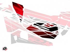 Graphic Kit Doors Low Dragonfire Eraser UTV Polaris RZR 900S/1000/Turbo 2015-2017 Red White