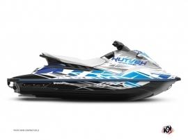 Graphic Kit Jet-Ski Eraser Yamaha EX White Blue