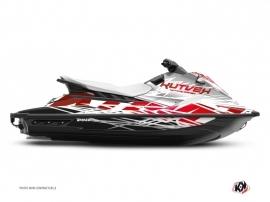 Graphic Kit Jet-Ski Eraser Yamaha EX White Red