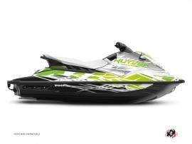 Graphic Kit Jet-Ski Eraser Yamaha EX White Green