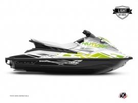 Graphic Kit Jet-Ski Eraser Yamaha EX White Green LIGHT