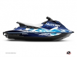 Graphic Kit Jet-Ski Eraser Yamaha EX Blue