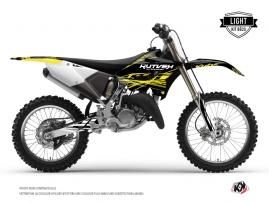 Yamaha 125 YZ Dirt Bike ERASER FLUO Graphic kit Yellow LIGHT