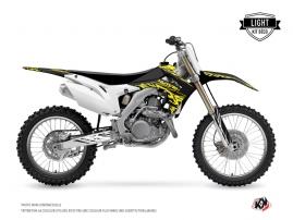 Honda 250 CRF Dirt Bike ERASER FLUO Graphic kit Yellow LIGHT