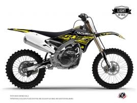 Graphic Kit Dirt Bike Eraser Fluo Yamaha 250 YZF Yellow LIGHT