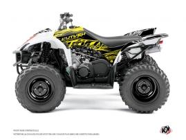 Yamaha 350-450 Wolverine ATV ERASER FLUO Graphic kit Yellow