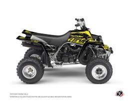 Yamaha Banshee ATV ERASER FLUO Graphic kit Yellow