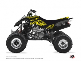 Kawasaki 400 KFX ATV ERASER FLUO Graphic kit Yellow