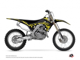 Graphic Kit Dirt Bike Eraser Fluo Honda 450 CRF Yellow