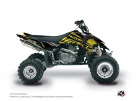 Suzuki 450 LTR ATV ERASER FLUO Graphic kit Yellow