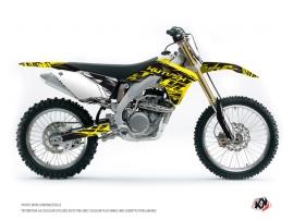 Suzuki 450 RMZ Dirt Bike ERASER FLUO Graphic kit Yellow