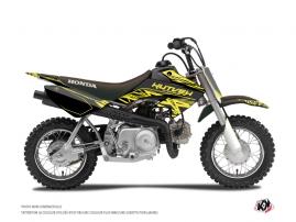 Graphic Kit Dirt Bike Eraser Fluo Honda 50 CRF Yellow