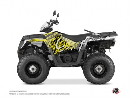 Graphic Kit ATV Eraser Fluo Polaris 570 Sportsman Touring Yellow
