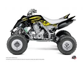 Graphic Kit ATV Eraser Fluo Yamaha 660 Raptor Yellow
