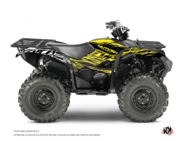 Graphic Kit ATV Eraser Fluo Yamaha 700-708 Grizzly Yellow