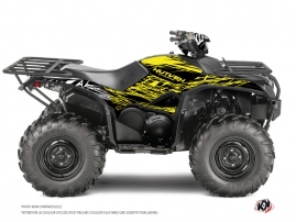 Yamaha 700-708 Kodiak ATV ERASER FLUO Graphic kit Yellow