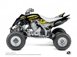 Yamaha 700 Raptor ATV Eraser Fluo Graphic Kit Yellow