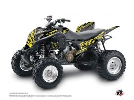 Graphic Kit ATV Eraser Fluo Honda 700 TRX Yellow
