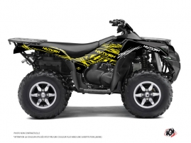 Kawasaki 750 KVF ATV ERASER FLUO Graphic kit Yellow