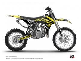 Graphic Kit Dirt Bike Eraser Fluo KTM 85 SX Yellow