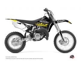 Yamaha 85 YZ Dirt Bike ERASER FLUO Graphic kit Yellow