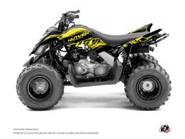 Yamaha 90 Raptor ATV ERASER FLUO Graphic kit Yellow