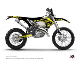 KTM EXC-EXCF Dirt Bike Eraser Fluo Graphic Kit Yellow