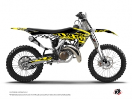 Husqvarna FC 350 Dirt Bike Eraser Fluo Graphic Kit Yellow