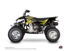 Polaris Outlaw 450 ATV ERASER FLUO Graphic kit Yellow