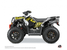 Polaris Scrambler 850-1000 XP ATV ERASER FLUO Graphic kit Yellow