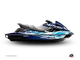 Graphic Kit Jet Ski Eraser Yamaha FZR - FZS Blue