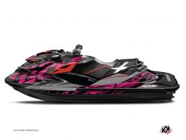 Graphic Kit Jet Ski Eraser Seadoo GTR-GTI Grey Pink